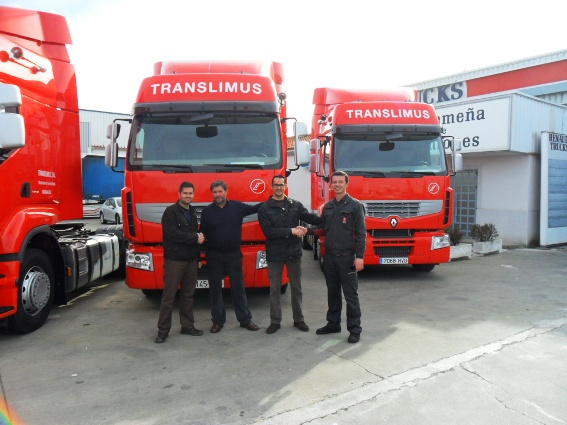 TRANSLIMUS, S.L. Le hacemos entrega de los Premium 460-T Dxi